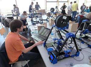 CATUAV builds a 3D printer in the RepRap workshop