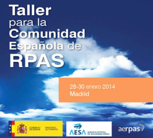 CATUAV participates in the RPAS workshop organized by AESA