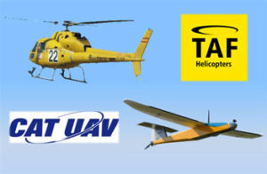 TAF HELICOPTERS and CATUAV sign strategic agreement