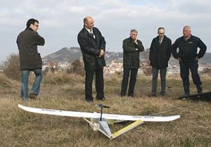 The Home Office of the Catalan Government visits CATUAV